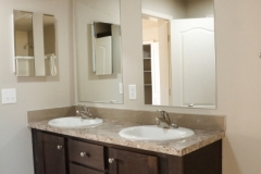 Double Sinks - Model Bathroom