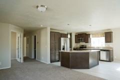 Model, Kitchen & Hallway