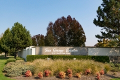 San George Estates Sign - Close